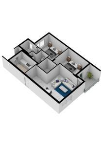 Planimetria VISTA 3D - Venaria